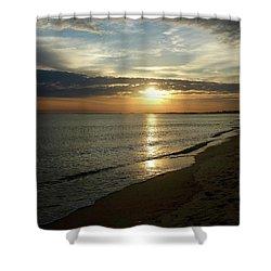 Sunrise In Norfolk Va Shower Curtain