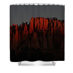 Sunrise In The Desert Shower Curtain by Menachem Ganon