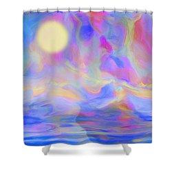 Sunrise Shower Curtain by Jack Zulli