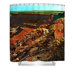 Sunrise Lipan Point Grand Canyon Shower Curtain