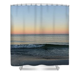 Shower Curtain featuring the photograph Sunrise On Alys Beach by Julia Wilcox