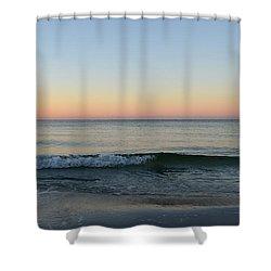 Sunrise On Alys Beach Shower Curtain by Julia Wilcox