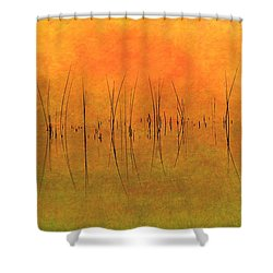 Sunrise On The Bay Shower Curtain