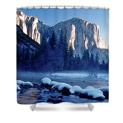 Sunrise On El Capitan Yosemite National Park Shower Curtain