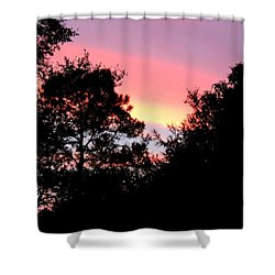 Sunrise Over Perry Shower Curtain