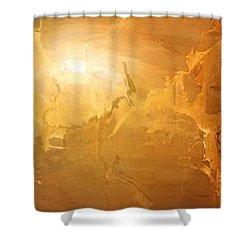 Sunrise Over The Dunes Shower Curtain by Kume Bryant