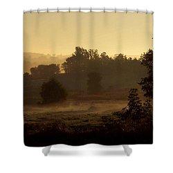 Sunrise Over The Mist Shower Curtain