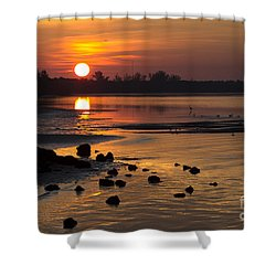 Sunrise Photograph Shower Curtain