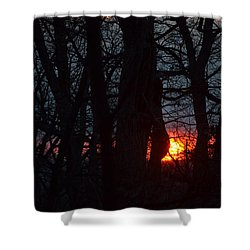 Shower Curtain featuring the photograph Sunrise Prayers by Carlee Ojeda