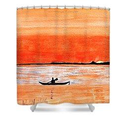 Sunrise Sail Shower Curtain by Sonali Gangane