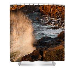 Sunrise Splash Shower Curtain by Jonathan Steele