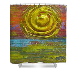 Sunrise Sunset 1 Shower Curtain by Jacqueline Athmann