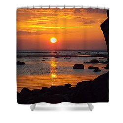 Shower Curtain featuring the photograph Sunrise Therapy by Dianne Cowen