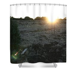 Shower Curtain featuring the photograph Sunrize by David S Reynolds