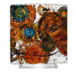 Sunset - 1274.121412 Shower Curtain by Kris Haas