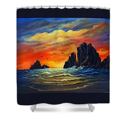 Sunset 2 Shower Curtain
