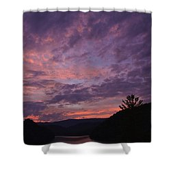 Sunset 2013 Shower Curtain