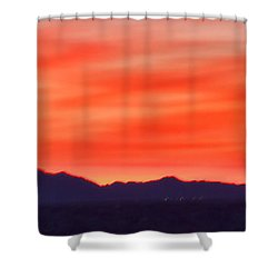 Shower Curtain featuring the photograph Sunset Algodones Dunes by Hugh Smith
