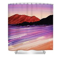 Sunset At Black Rock Maui Shower Curtain