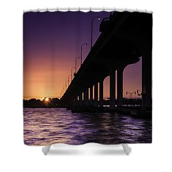 Sunset At Jensen Beach Shower Curtain
