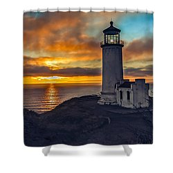 Sunset At North Head Shower Curtain