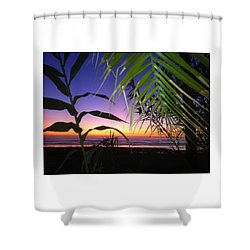 Sunset At Sano Onofre Shower Curtain