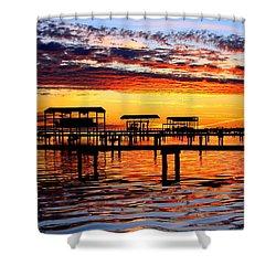 Sunset Breeze Shower Curtain