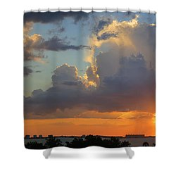 Sunset Shower Sarasota Shower Curtain
