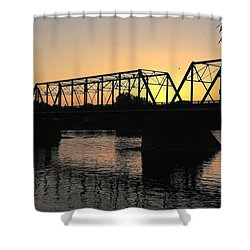 Sunset In June Shower Curtain