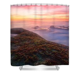 Sunset In La Jolla Shower Curtain