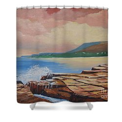 Sunset In New South Wales Shower Curtain