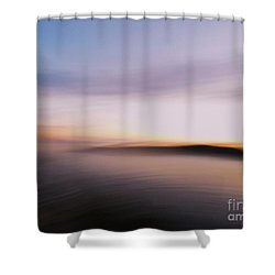 Sunset Island Dreaming Shower Curtain