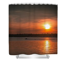 Sunset Shower Curtain by Kenneth Cole