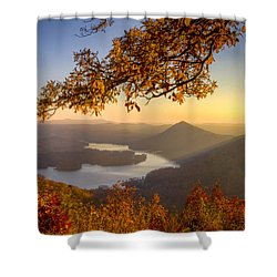 Sunset Light Shower Curtain