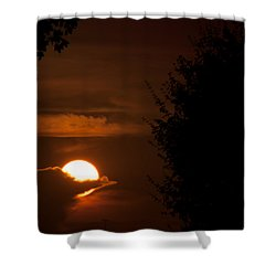 Sunset Shower Curtain by Miguel Winterpacht