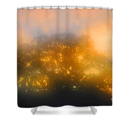 Sunset Mocks Sunrise Shower Curtain