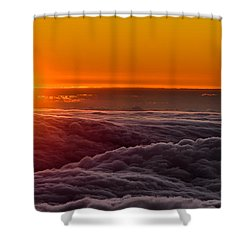 Sunset On Cloud City 1 Shower Curtain