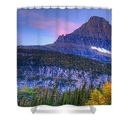 Sunset On Reynolds Mountain Shower Curtain