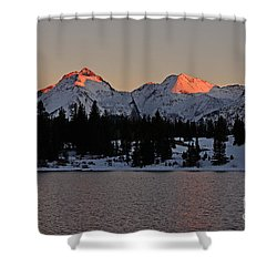Sunset On The Grenadiers Shower Curtain