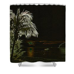 Sunset On Tioman Island Shower Curtain by Sergey Lukashin