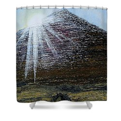 Sunset Over Khufu Shower Curtain