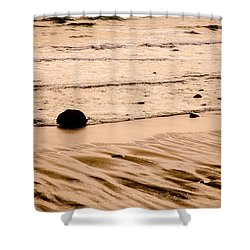 Sunset Palette Wreck Beach Shower Curtain