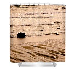 Sunset Palette Wreck Beach Shower Curtain