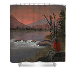 Sunset Serenade Shower Curtain by Sheri Keith