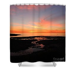 Field River, Hallett Cove Shower Curtain