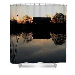 Sunset Talmenka Shower Curtain by Alexei Biryukoff