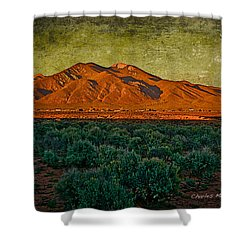 Sunset V Shower Curtain