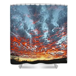 Sunset Colorado Country Style Shower Curtain