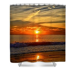 Sunset's Glow  Shower Curtain