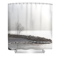 Sunshine Shower Curtain by Colleen Williams